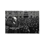 Vladimir Lenin Revolution Rectangle Magnet