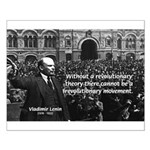 USSR Foundation Lenin Small Poster