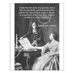 Leibniz Origins of Calculus Small Poster