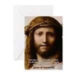 Jesus Peace and Love Greeting Cards (Pk of 10)