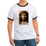 Jesus Peace and Love Ringer T