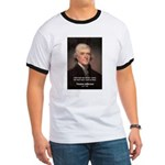 Work and Luck Jefferson Ringer T