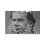 Thomas Huxley and Darwin Rectangle Magnet (100 pac