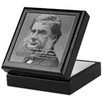 Thomas Huxley and Darwin Keepsake Box