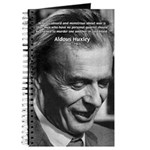 Humanist Aldous Huxley Journal