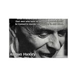 Humanist Aldous Huxley Rectangle Magnet (100 pack)
