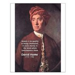 David Hume on Beauty Small Poster