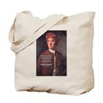 David Hume on Beauty Tote Bag