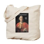 Christianity and David Hume Tote Bag