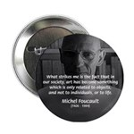 Social Criticism: Foucault Button