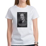 Peace and Justice Eisenhower Women's T-Shirt