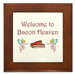 Bacon Heaven Framed Tile