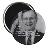 "Politics George W. Bush Snr 2.25"" Magnet (10 pack)"