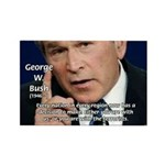 Terrorism George W. Bush Rectangle Magnet (100 pac