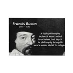 Philosopher Francis Bacon Rectangle Magnet (10 pac