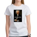 Glory God Music J. S. Bach Women's T-Shirt