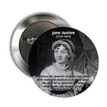 "Women in History Jane Austen 2.25"" Button (10 pack"