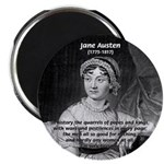 "Women in History Jane Austen 2.25"" Magnet (10 pack"