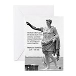 Universe: Marcus Aurelius Greeting Cards (Package