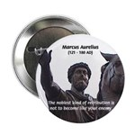"Emperor Marcus Aurelius 2.25"" Button (100 pack)"