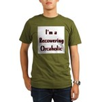 Recovering Orcaholic Organic Men's T-Shirt (dark)
