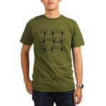 Dancing Devil Cube Organic Men's T-Shirt (dark)