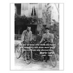 Marie & Pierre Curie Good Evil Small Poster