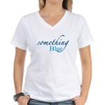 Something Blue Women's V-Neck T-Shirt