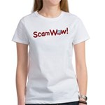 Obama ScamWow! Women's T-Shirt