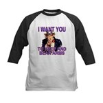 Uncle Sam Keep And Bear Arms Kids Baseball Jersey