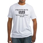 Right Wing Mob Fitted T-Shirt