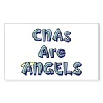 CNAs Are Angels Rectangle Sticker