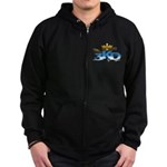 3 Kings Day Zip Hoodie (dark)