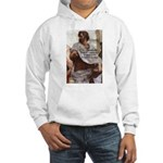 Aristotle Education Quote Hooded Sweatshirt