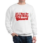 Edward Christmas Sweatshirt