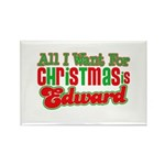 Christmas Edward Rectangle Magnet (100 pack)