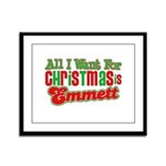 Christmas Emmett Framed Panel Print