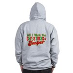 Christmas Jasper Zip Hoodie