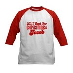 Christmas Jacob Kids Baseball Jersey