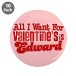 "Edward Valentine 3.5"" Button (10 pack)"