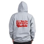 Carlisle Valentine Zip Hoodie