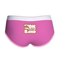 I'm With The Band Womens Boy Brief