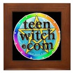 TeenWitch  Framed Tile