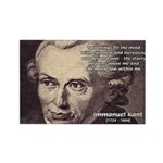 Kant Moral Law: Rectangle Magnet