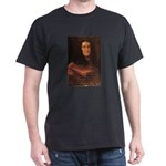 Gottfried Leibniz Metaphysics Black T-Shirt