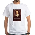 Spinoza Ethics Philosophy White T-Shirt
