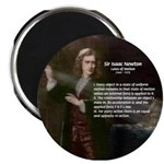 "Isaac Newton Laws Motion 2.25"" Magnet (100 pack)"