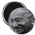 "Power of Truth Gandhi 2.25"" Magnet (100 pack)"