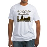 Nagin's Chocolate City (w/nuts) Fitted T-Shirt