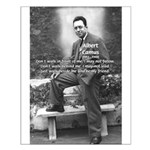 Albert Camus Philosophy Quote Small Poster